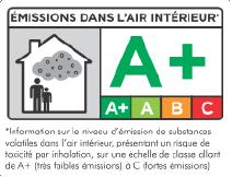 VOC Emission A+ Logo